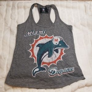 Miami Dolphins Racer back Tank